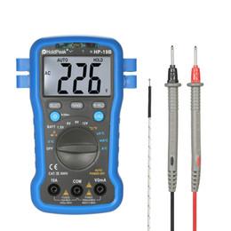 $enCountryForm.capitalKeyWord NZ - HoldPeak Digital Multimeter electric instrument DC AC Voltage Current Meter Resistance Temperature Battery Tester + Wrist Strap