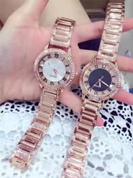 Discount new trendy watches - Luxury women diamond decoration watches rose gold fashion trendy designer roxbrand ladies youth student wristwatch montr