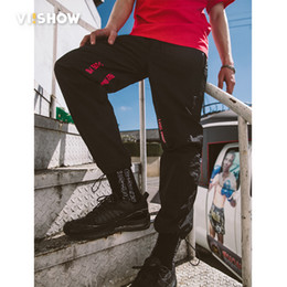 viishow men clothing UK - VIISHOW 2018 New Summer Casual Pants Men Fashion Trousers Slim Fit tactical pants men Cool sweatpants Brand Clothing KC1418182