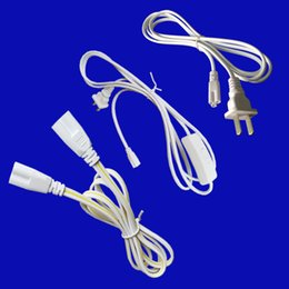 Touch swiTch plug online shopping - 6ft Cable for Integrated T8 T5 led tubes lights Connector Power Cable with switch US Plug