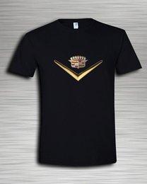 Ingrosso NOVITÀ Cadillac King Crown Emblem Logo Auto Moto Racing T-SHIRT DONNA UOMO S-5XL