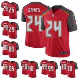 Tampa Bay Limited Home football Jersey Buccaneers Red Vapor Untouchable 3  Jameis Winston 13 Mike Evans 22 Doug Martin 15 bb46d1fc4