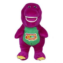 $enCountryForm.capitalKeyWord NZ - 11 Inch Singing Friends Dinosaur Barney Sing I LOVE YOU Plush Doll Toy Christmas Gift For Children Plush Toys Animals