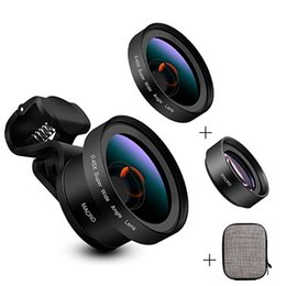 $enCountryForm.capitalKeyWord Canada - Professional Universal Camera Lenses 0.45X Wide Angle 12.5X Macro Lens With Clips 2 in 1 Kit For iPhone Samsung Cell Phone