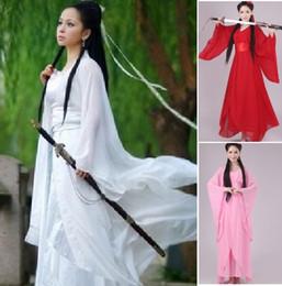 $enCountryForm.capitalKeyWord NZ - women kong fu Cosplay fairy costume Hanfu clothing Chinese Traditional ancient dress dance stage cloth Classic nv white costume