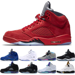 5S V Olympic Metallic Gold White Cement Men 5 Basketball Shoes OG Oreo Camo  Black Metallic Red Blue Suede Fire Red Designer Sport Sneakers 9335bc44b