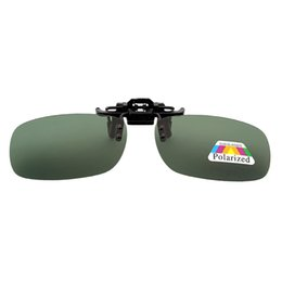 92b3105415 mrwonder UV Polarized Sunglasses Unisex Clip On Flip-up Sun Glasses Driving  Day Night Vision Lens CLEAR OUT OF STORK CCC