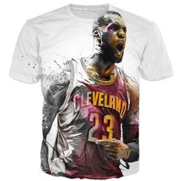 377a71e41b04 2018 summer New Fashion 3d t-shirt star LeBron James Roaring Funny Print  Men Women t shirts casual O-Neck T shirt