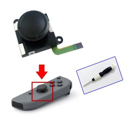 Switch Screw NZ - 3D analog joystick Thumb Sticks sensor replacement for Nintend Switch NS Switch Joy Con controller parts oem With Screw Driver