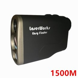 Discount golf laser rangefinder distance meter - Laser Rangefinder 1500 Meter Distance Meter Digital 1500M Monocular Hunting Telescope trena golf range finder tape measu