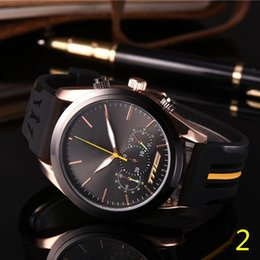 RubbeR clocks online shopping - 2019 Mens Sport Wrist Watch Top Brand maserati Rubber Strap Quartz Movement Gift Time Clock Wacth Relojes Hombre Horloge Orologio Uomo
