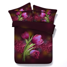 3d queen bedspreads NZ - 3D galaxy floral Duvet Cover bedding sets queen Bedspreads Holiday Quilt Covers Bed Linen Pillow Covers