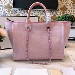 Venta al por mayor de bolsos de lujo bolsos de las mujeres diseñador de la marca famosa lienzo mujer comprador bolsas de hombro de gran capacidad saco de mensajero a principal
