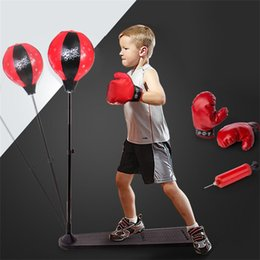 Ball Box plastic online shopping - Vertical Sandbags An Adult Child Abreact Ball Boxing Balls Professional Decompression Toys Speed Fitness Products Hot Sale sx W