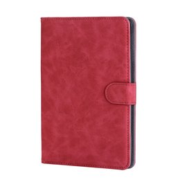 huawei m2 tablet 2019 - Flip Cover PU Leather Case with Card Slots for Huawei Mediapad M2 8.0 inch M2-801W M2-803L Tablet Protective Shell+Stylu