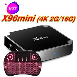 $enCountryForm.capitalKeyWord Australia - X96 mini Android 7.1 TV Box With fly Air Mouse Key Board keyboard 4K Media Player Amlgoic S905W Quad Core 2Gb Ram 16Gb Rom TV Boxes