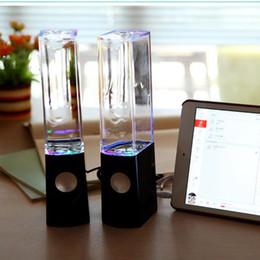 Water Audio Australia - Amazon Best Seller Water Dancing Speakers Light Show Water Fountain Speakers LED Music Fountain Amplifier Dancing 3W*2