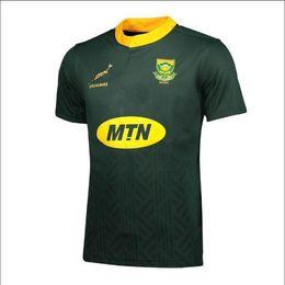 df4c6969e4c82 2018 2019 Sudáfrica Camiseta de local y visitante Jersey de primavera de  los equipos sudafricanos de los Springboks Camisas s-3xl