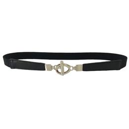 $enCountryForm.capitalKeyWord UK - Fashion Waist Belt Dress Access Ladies Slim Thin Shiny Skinny Women Belt 2018 Leather ceinture femme de marque luxe A9