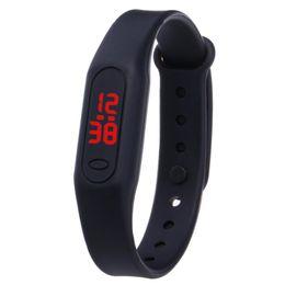 Womens Watches Digital UK - Masculino Mens Sports Watches Digital Silicone Watch LED Womens Men Date Electronic Wrist Watch For Children Kids Clock Relogio