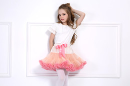 $enCountryForm.capitalKeyWord NZ - New Baby Girls Tutu Skirt Ballerina Pettiskirt Layer Fluffy Children Ballet Skirts For Party Dance Princess Girl Tulle Miniskirt