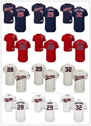 46f08bed9 custom Men s women youth Minnesota Twins Jersey  28 Bert Blyleven 29 Rod  Carew 32 Ryan Vogelsong Red Grey White Kids Baseball Jerseys