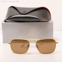 sun glasses NZ - Top Quality New Fashion Sunglasses For Man Woman Eyewear Designer brand designer Sun Glasses UV400 Lenses Glass Lenses Glasses Box and Cases