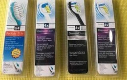 Wholesale Sonicare Toothbrush Head packaging electric ultrasonic Sonicare ProResults HX6014 HX6024 HX6034 HX6044 HX6064 HX6074 fast by DHL