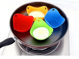 microwave cookware NZ - Silicone Egg Cups Cookware Microwave Egg Poachers Cooker Up Home Gadgets Egg Boiler