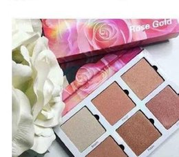 violet voss palette Australia - Newest Cosmetics Violet Voss Rose Gold Highlighters Makeup 6 Colors Highlight Palette DHL free shipping