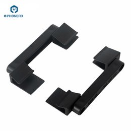 China FIXPHONE 2Pcs Simple Adjustable LCD Screen Clamp Fixture Holder for Mobile Phone Tablet Repair Work Tool suppliers