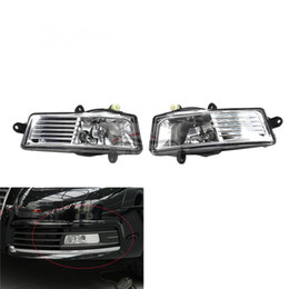 Audi H1 NZ - For Audi A6 C6 2009 2010 2011 Auto Fog Light Lamp Car Front Bumper Grille Driving Lamps Fog Lights Set Kit 4F0941699A 4F0941700A