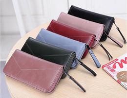 Cheap designers ladies handbags online shopping - Hot famous brand fashion pu leather wallet long purse single zipper cheap luxury designer handbags clutch men women unisex wallets