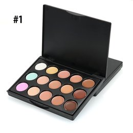 Discount neutral concealer face 1pcs 10CM Concealer Neutral Palette 15 color Makeup colors cosmetic set Face Camouflage Body Foundation eyeshadow