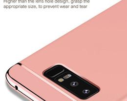 HA De Luxe Cas De Téléphone Placage Pour Samsung Galaxy S9 S7 S8 Plus Couverture Complète Cas De Protection Pour Samsung Note 8 S7 Edge Shell