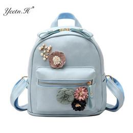 9481020b28e6 H Women Bag Fashion High Quality Flowers Fresh Style Backpacks For Teenage Girls  School Bags Floral Small Sac A Dos Y806