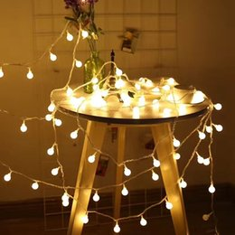 Decoration strings online shopping - New Design m Led String Lights Christmas Tree Hanging Ornament Couryard Decoration Wedding Birthday Outdoor Patio Gardland Decor
