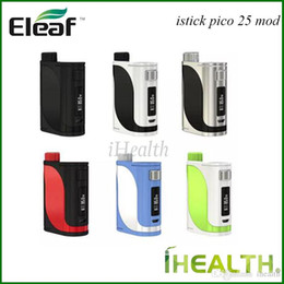Eleaf Istick Box Australia - Original Eleaf iStick Pico 25 TC Box MOD 85W Powered by Replaceable 18650 Battery Dual Circuit Protection Eleaf iStick Pico 25 MOD