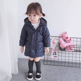 Outerwear & Coats Girls' Clothing Lonsant New Kid Raincoat Coat Outerwear Children Clothing Spring Autumn Jackets For Girls Waterproof Padded Jacket 1-6y
