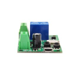 $enCountryForm.capitalKeyWord NZ - 20pcs Lot Sonoff DC5V 12V 24V 32V Wifi Switch Wireless Relay Module Smart Home Automation Module APP Remote Control Switch