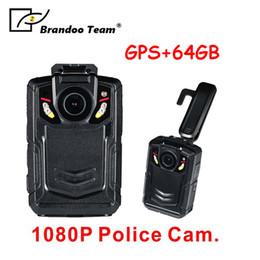 Gps Hd Australia - GPS Portable Body Camera, Wireless Wearable Camera with 64GB internal memory, Person Worn Camera, Portable HD Body Camera