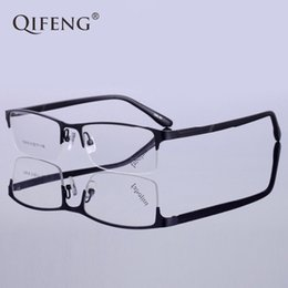 656ed224777 QIFENG Spectacle Frame Eyeglasses Men Korean Computer Optical Prescription  Myopia Clear Lens Eye Glasses Frame For Male QF152