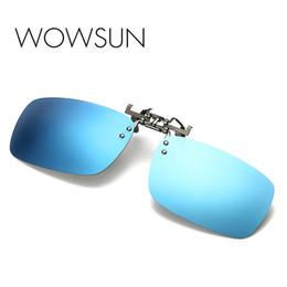 $enCountryForm.capitalKeyWord UK - WOWSUN Rimless Polarized Sunglasses Men New Fashion Flip Cover Eyeglasses Male Brand Black Yellow Lens Oculos UV400 A088