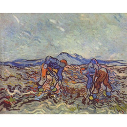 $enCountryForm.capitalKeyWord Australia - Best oil paintings Farmers at work Vincent Van Gogh Hand painted Landscapes painting for room decor