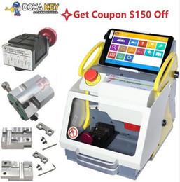 Clamp key maChine online shopping - New Clamp Original Auto Locksmith Tool SEC E9 CNC automatic key cutting Machine same as Miracle A9 Key Cutting Multi Language