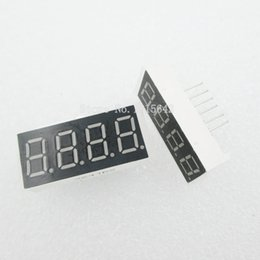 "common anode display 2020 - 5PCS LOT 4bit 4 bit Common Anode Positive Digital Tube 0.36"" 0.36in. Red LED Display 7 Segment Digit discount commo"