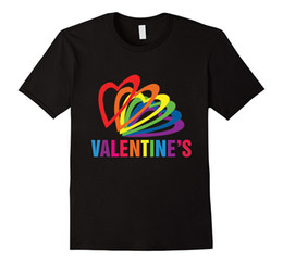 Buy Shirt T Canada - Buy T Shirts Online Men's Tall O-Neck Gay Valentines Day 2018 T Shirt Short-Sleeve T Shirt