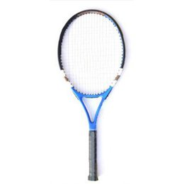 $enCountryForm.capitalKeyWord UK - 1pc Tennis Racket Carbon And Aluminum Tennis Racket One Piece Composite Beginner Training Free