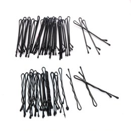 Ladies curLy hair online shopping - 1200pcs Hair Accessories Hair Clips For Women Ladies Hair Pins Invisible Curly Wavy Grips Salon Barrette Hairpin Black Barrette