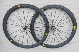 Chinese  12k mavic cosmic 25mm or 23mm width full carbon fiber road bike wheels carbon wheelset 700c rims carbon bicycle wheels clincher 50mm manufacturers